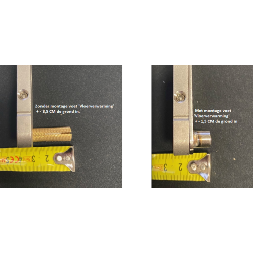 Enkele stalen taatsdeur met zijlicht - 2580x1285mm