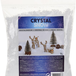 Crystal snow - large flakes
