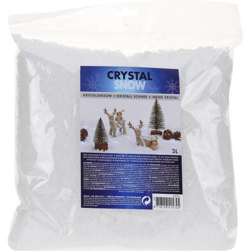 Crystal snow - large flakes - 1Liter