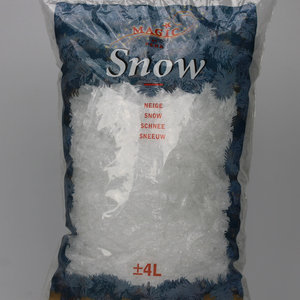 Flake snow