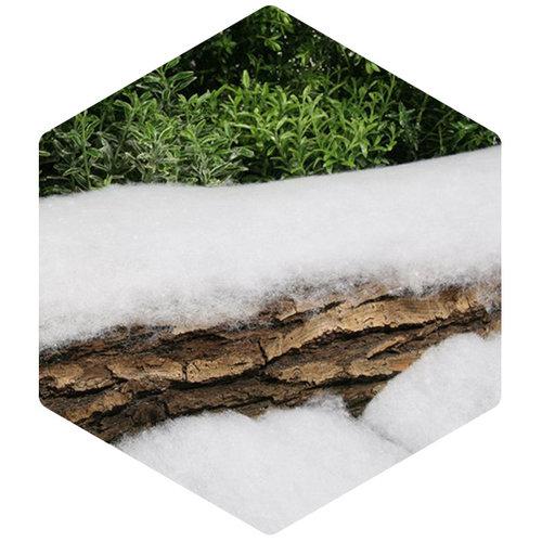 Sneeuwdeken op rol van superieure kwaliteit