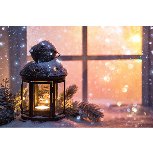 Create your own winter snow scene