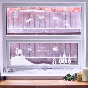 Raamdecoratie SneeuwBox