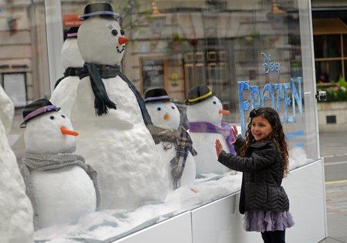 Winter Themed Shop Windows