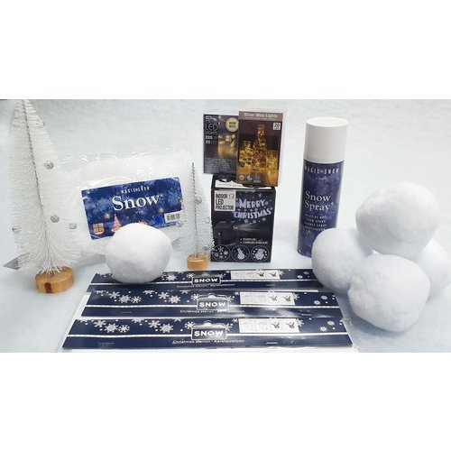 Create your own wintersetting in the office