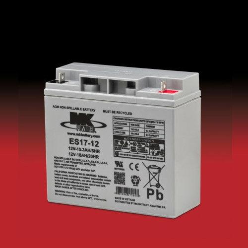 MK Battery MK 12v 17Ah ES17-12 AGM accu