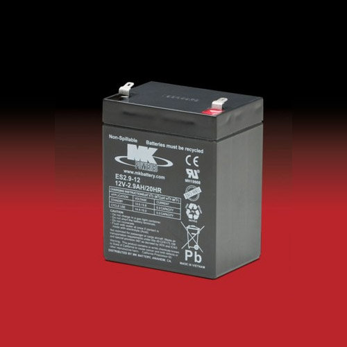MK Battery MK 12v 2.9Ah ES2.9-12 AGM accu