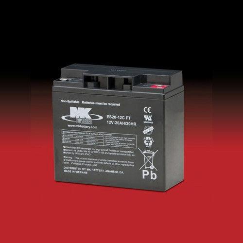 MK Battery MK 12v 20Ah ES20-12C FT AGM accu