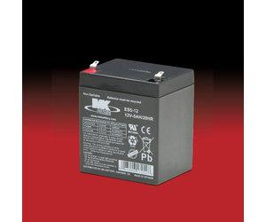MK 12v 5Ah ES5-12 AGM accu