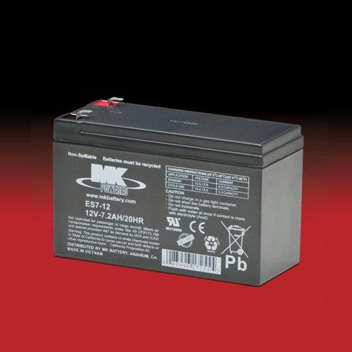 MK Battery MK 12v 7.2Ah ES7-12 AGM accu