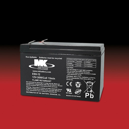 MK Battery MK 12v 9Ah ES9-12 AGM accu