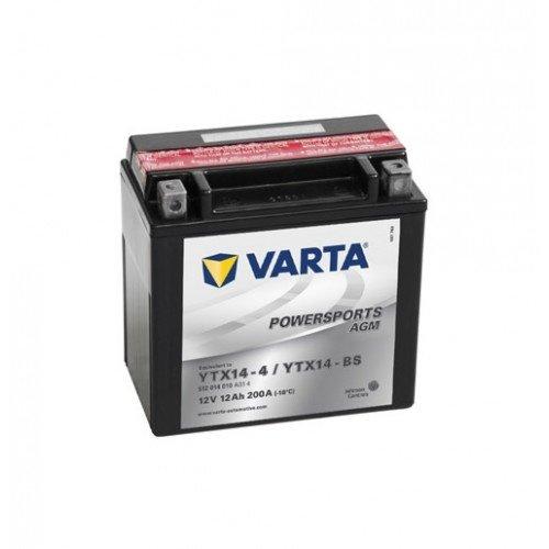 VARTA VARTA Funstart AGM YTX14-4 / YTX14-BS 12V 12Ah 512 014 010