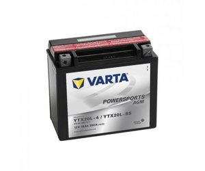 VARTA Funstart AGM YTX20L-4 / YTX20L-BS 12V 18Ah