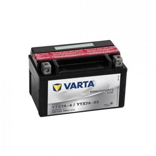 VARTA VARTA Funstart AGM YTX7A-4 / YTX7A-BS 12V 6Ah 506 015 005