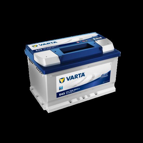 VARTA Varta Blue Dynamic E43 12V 72Ah 572 409 068