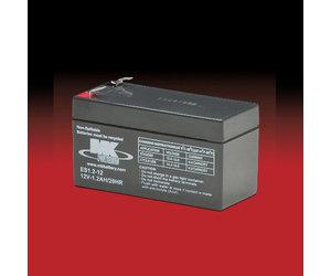 MK 12v 1.2Ah ES1.2-12 AGM accu