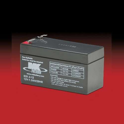 MK Battery MK 12v 1.2Ah ES1.2-12 AGM accu