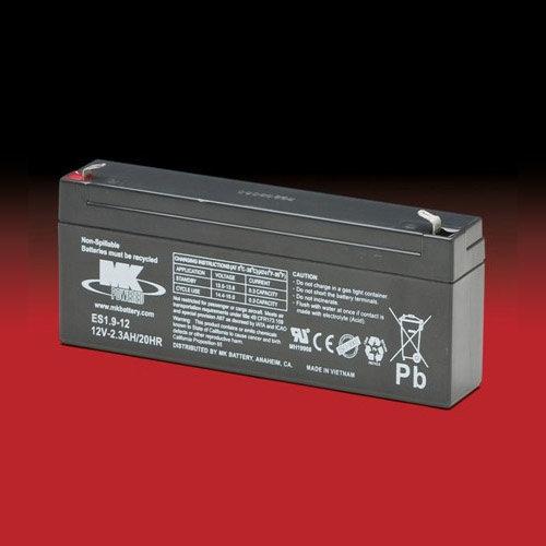 MK Battery MK 12v 2.3Ah ES1.9-12 AGM accu