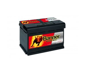 Banner Power Bull P7412 12V 74Ah (eq 574012068 Varta E11)