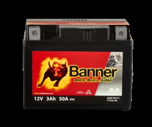 Banner Bike Bull AGM 50314 YTX4L-BS 12V 3Ah