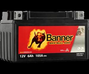 Banner Bike Bull AGM 50615 YTX7A-BS 12V 6Ah