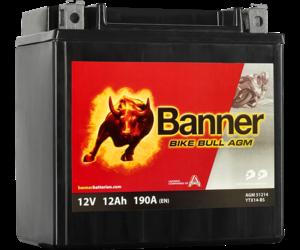 Banner Bike Bull AGM 51214 YTX14-BS 12V 12Ah