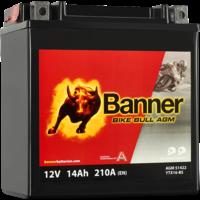 Banner Banner Bike Bull AGM 51422 YTX16-BS 12V 14Ah