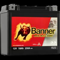 Banner Banner Bike Bull AGM 51821 YTX20L-BS 12V 18Ah