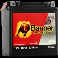 Banner Banner Bike Bull AGM 51822 YTX20CH-BS 12V 18Ah