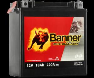 Banner Bike Bull AGM 51822 YTX20CH-BS 12V 18Ah