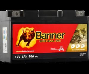 Banner Bike Bull GEL 50601 YT7B-BS 12V 6Ah