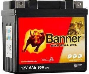 Banner Bike Bull GEL 50621 YTZ7-S 12V 95Ah