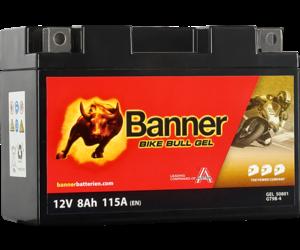 Banner Bike Bull GEL 50801 YT9B-BS 12V 8Ah