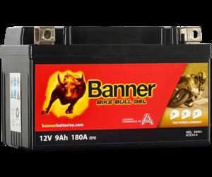 Banner Bike Bull GEL 50901 GTZ10-4 12V 9Ah