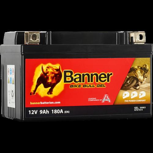 Banner Banner Bike Bull GEL 50901 GTZ10-4 12V 9Ah