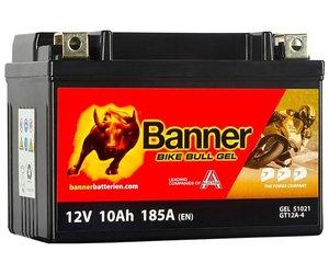 Banner Bike Bull GEL 51021 YT12A-BS 12V 10Ah