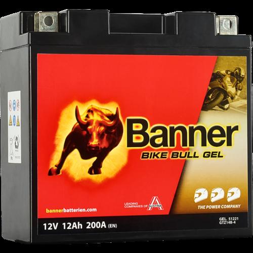 Banner Banner Bike Bull GEL 51221 YT14B-4 12V 12Ah