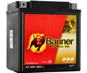 Banner Bike Bull GEL 53001 YTZ30L-BS 12V 30Ah