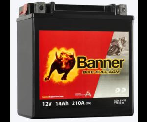 Banner Bike Bull AGM PRO YTX16-BS ETX 14 12V 14Ah