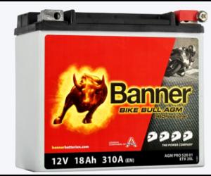 Banner Bike Bull AGM PRO YTX20L-BS ETX 20L 12V 18AH