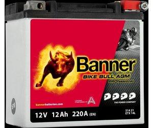 Banner Bike Bull AGM PRO YTX14L-BS ETX 14L 12V 12Ah