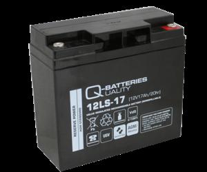 Q-Batteries 12LS-17 12V 17Ah