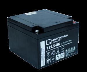 Q-Batteries 12LS-26 12V 26Ah