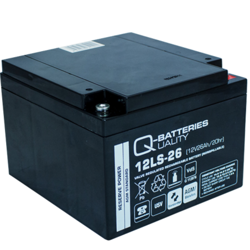 Q-Batteries Q-Batteries 12LS-26 12V 26Ah