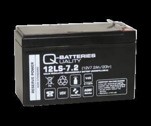 Q-Batteries 12LS-7.2 12V 7.2Ah