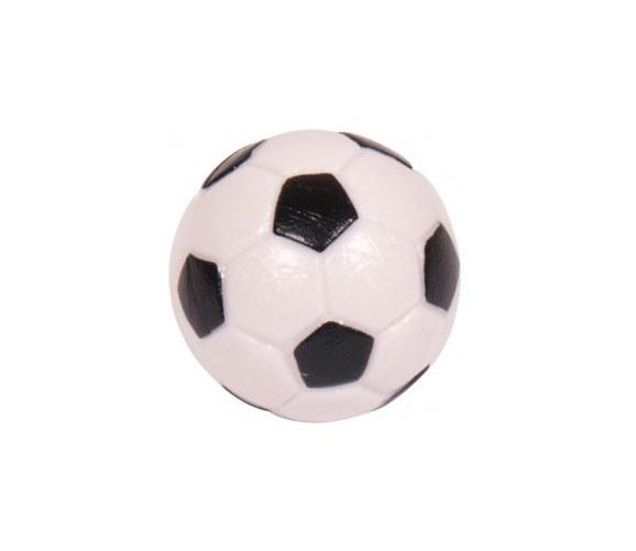 Voetbaltafelballetje Zwart / Wit (10 x )