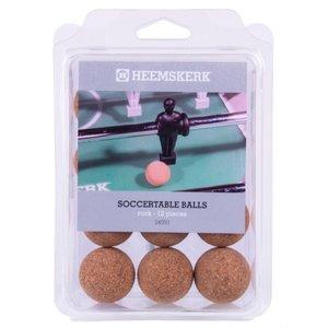 Heemskerk Tafelvoetbalballetjes Heemskerk Kurk per 12