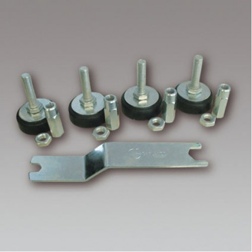 Garlando / onderdelen Leg levellers Garlando voetbaltafel per 4 stuks