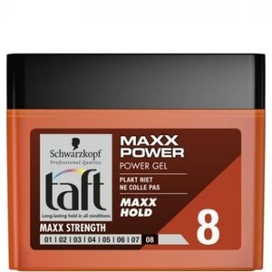 Taft Taft Power Haargel Pot - Maxx Power 250 ml.