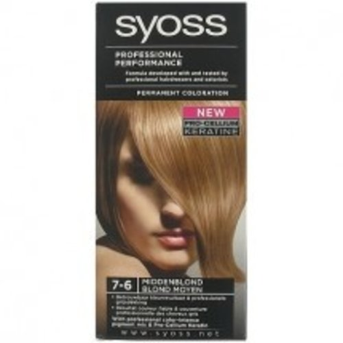 Syoss Syoss Haarverf - nr. 7-6 Midden Blond